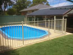 fence design tubular pool fence contractors delighful cheap with