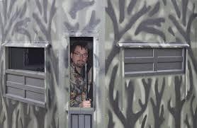 Deer Blind Elevator Brackets Exteriors Magnificent Shadow Hunter Blind Window Kit Shadow