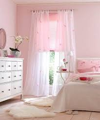 Pink And White Nursery Curtains by Exquisite Design Ideas Using Rectangular White Wooden Headboard