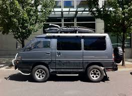 mitsubishi delica off road mitsubishi van wagon not your average minivan pinterest mini