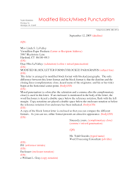 Block Style Letters by Block Style Letter Format With Open Punctuation Cover Letter