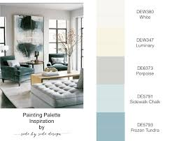 side by side design painting palette