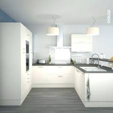 cuisine moderne en u cuisine acquipace gris anthracite cool rideaux cuisine moderne u