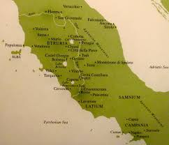 Italy Map Cities by Roma The Eternal City Is Rama The Universal Deity The Etruscan