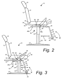 patent us7963610 salon chair having movable foot rest google