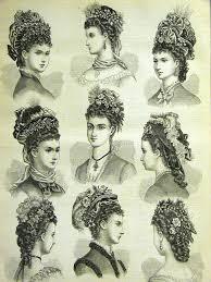 bonnet haircut 472 best victorian edwardian hair images on pinterest hairstyles
