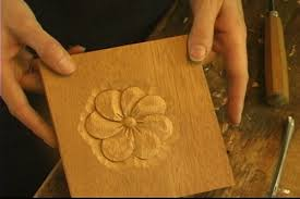 carving a simple flower u2013 mary may u0027s of traditional woodcarving