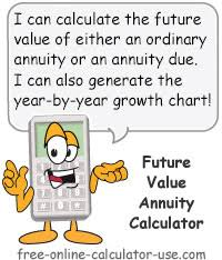 Ordinary Annuity Table Future Value Annuity Calculator Calculate Fv Of Equal Cash Flows