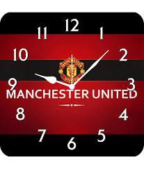 furnishfantasy manchester united wall clock buy furnishfantasy