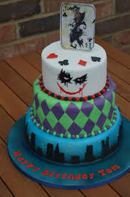 cakes for halloween joker cake for a joker themed birthday party www cakesbynicola