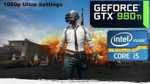 pubg 980 ti gtx 980 ti playerunknown s battlegrounds gameplay fps test