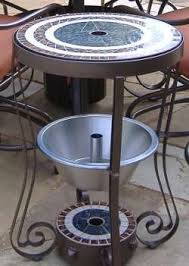 Patio Umbrella Stand Side Table Buy Patio Tables And Chair Sets Outdoor Furniture