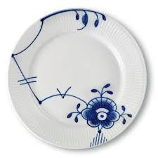 royal copenhagen blue fluted mega salad plate 6 bloomingdale s