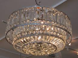 faceted art deco chandelier at 1stdibs