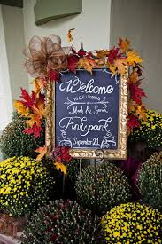 Outdoor Fall Decorations by Wedding Ideas Outdoor Fall Wedding Decoration Ideas Rustic Fall