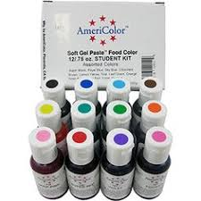 americolor amerimist air brush food color 4 pk kit created by