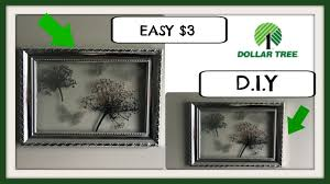 dollar tree d i y wall decor only 3 youtube