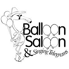 singing telegrams balloon saloon singing telegrams logo png transparent svg vector