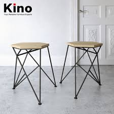 Rod Iron Dining Chairs Nordic Fashion Creative Stool Wire Wrought Iron Solid Wood Splice