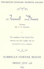 Invitation Card For Dinner Simple White Themed With Farewell Dinner And Party Invitation Card