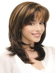 medium hairstyles with bangs for women who are overweight beauty most wonderful women medium hairstyles with bangs women