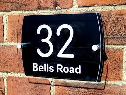glass door number signs perspex door signs u0026 standoffs perspex door sign