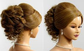 wedding up hairstyle for long hair bridal prom updo hairstyle for