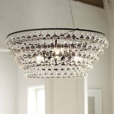 interior mesmerizing crystal glass orb chandelier for home