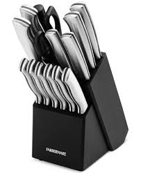 farberware kitchen knives farberware 15 pc cutlery set cutlery knives kitchen macy s