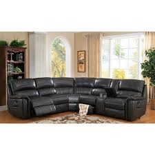 Slipcovers For Leather Recliner Sofas Darrin Leather Reclining Sofa With Console Recliner Slipcovers And