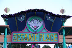 sesame place the count u0027s halloween spooktacular the roarbotsthe
