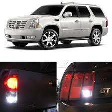 cadillac escalade tail lights amazon com 2007 2014 cadillac escalade esv and ext reverse