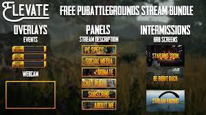pubg free i ve created a free pubg streaming bundle for you guys dl in