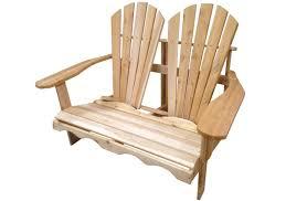 chaise adirondack causeuse adirondack en cèdre blanc canadien