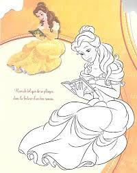 belle coloring page belle 3 pinterest