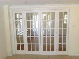 4 Panel Interior Doors White Glass Panel Door Tandonautes