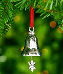 lenox silver plated 2017 annual silver bell ornament dillards