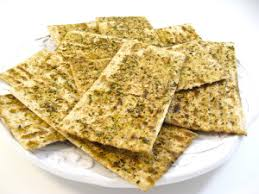 matzos for passover passover herbed baked matzos http www skinnykitchen recipes