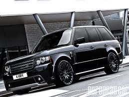 range rover car black kahn design westminster black label edition range rover web