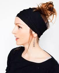 wide headbands 6pc fashion cotton elastic headbands wide headband sweat hair band