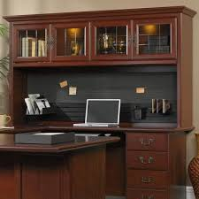 sauder desk with hutch sauder office desks heritage hill 404975 hutch hutch from
