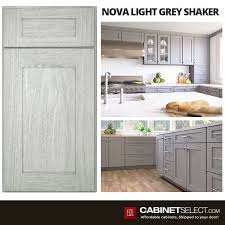 grey stained shaker kitchen cabinets light gray kitchen cabinets by forevermark
