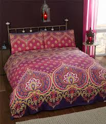 Paisley Single Duvet Cover Indian Style Elephant Quilt Duvet Cover U0026 Pillowcase Bedding Bed