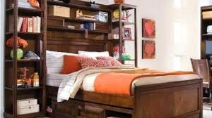twin xl bookcase headboard twin size storage bed elkarclub lovely twin bed with bookcase