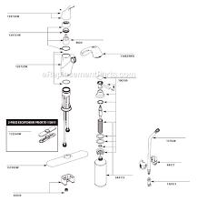 moen kitchen faucets repair moen kitchen faucet repair diagram home design ideas