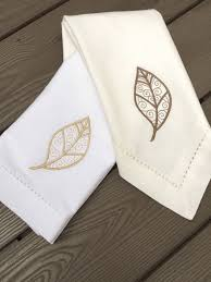 autumn leaves cloth dinner napkins thanksgiving napkins