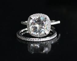 white topaz engagement ring cut white topaz ring engagement diamond gold 25390 jewelry