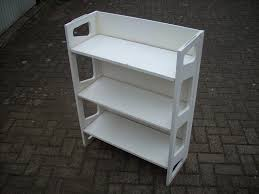White Folding Bookcase by White Folding Bookshelf Collapsable Ideal For Retail Or