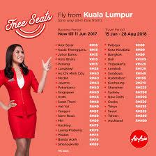 airasia singapore promo airasia free seats booking until 11 june 2017 travel 15 january