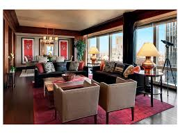 Large Red Area Rug Surprising Living Room With Red Accents Living Room Ceiling Beams